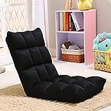 Somedays Chaise de Sol réglable Chaise de Jeu Adultes en Acier Inoxydable pour la Lecture en regardant la télévision et l'exercice de Yoga