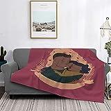 Couvertures ultra-douces,thème de l'amour enlacé par un couple romantique,ensemble de literie décoratif 2 pièces avec 1 taie d'oreiller,légère et douce pour le salon avec canapé-lit,50 'x 60'