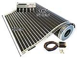Calorique Chauffage au sol 50cm 150W / m² Set 1m² Solution de chauffage efficace et d'économie d'énergie de la maison