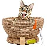 Volwassen Anti-Stress Kattenbed Kennel Kooi Hond Bank en Fauteuil Slijpen Klauw Ronde Kattenbak Huisdier Bed Shell