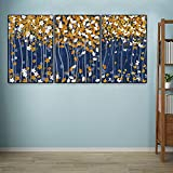 Toile de peinture Posters de la toile de laacco Peinture abstraite Plaque de prune Butterfly Fallen Feuilles Feuilles d'impression Photos murales Moderne Maison Salon Décor