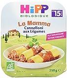 HiPP Biologique Cannelloni aux Légumes dès 15 mois - 6 assiettes de 250g