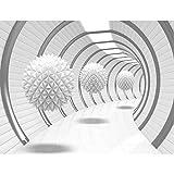 Papier peint intissé 3D Résumé 352 x 250 cm - Tapisserie Decoration Murale XXL Poster - Salon Appartement Photo d'art - 9175011a
