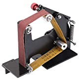 Machine de Polissage de Meulage, KKmoon 900-1800 RPM Accessoires Multifonctionnels d'Adaptateur de Bande Abrasive de Meuleuse d'Angle Machine de Ponçage, M14