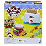 Play-Doh Grille Pain-Pâte à Modeler, E0039, Varié