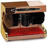 YWAWJ Polisseur de Chaussure, Pleine Machine à Induction d'auto-Nettoyage, Un Dispositif d'auto-Chaussure, Machine de brossage de Chaussures électrique Domestique motorisé