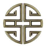 1 Paire Poignée Bouton de Porte Motifs de Bon Augure Traditionnels Chinois pour Placard Tiroir