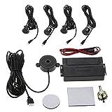 KKmoon Kit d'aide au Stationnement pour Voitures, Radar de Recul de Voiture (Alarme + 4 Capteurs) Tipo Zumbador