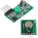 Ociodual Module Transmetteur et Récepteur RF 433Mhz Fréquence Radio sans Fil Wireless émetteur pour Robotique Raspberry Pi