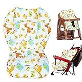 Coussin de chaise haute bébé,bebe poussette coussin,bébé Coussin d'assise/coussin de chaise haute Joli motif animal Coussin doux double face Coussin Coussin respirant