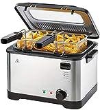 Friteuse en acier inoxydable SEF3 2000 D3 Friteuse à air chaud à air chaud - Volume d'huile max. 4 l