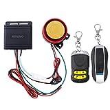Système d'alarme moto WINOMO équipé de système de sécurité antivol avec double télécommande 12 V universelle