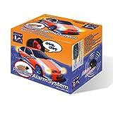 JOM Car Parts & Car Hifi GmbH 7106 Protecteur Système d'alarme, Universel avec 2 télécommandes/clés Pliables