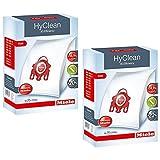 Miele Lot de 2boîtes de sacs d'aspirateur FJM Hyclean 3D Efficiency pour aspirateur Compact S700 S4000 et S6000