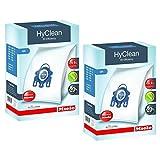 Miele - Sac Hyclean GN véritables pour aspirateurs C2C3Cat & Dog PowerLine Silence EcoLine + filtres (2boîtes)