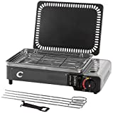CAPTURE Outdoor, SuperCook Duo, Gril & Plancha Portable à gaz, 2200w