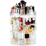 Rotatif Maquillage Organisateur, 360 Degrés Rotatif Présentoir Cosmétique, Réglable Vanity Organisateurs Salle De Bains Étagères Comptoir Organisateur Cosmétique De Stockage