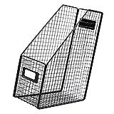 UPKOCH Fil Porte- Revues Fichiers Dossier Rack De Bureau Étagère Paperasse Organisateur De Bureau Papeterie Boîte De Rangement pour Home Office Décoration