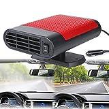 2 en 1 Chauffage de Voiture Portable,12 V 150 W Dégivreur Dégivreur Dégivreur Allume Cigare Puissant Ventilateur de Voiture Chauffage Rapide Faible Bruit