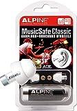 Alpine MusicSafe Bouchons d'Oreilles Classiques- Expérience Musicale sans Risques de Lésions Auditives - Trois Jeux de Filtres Interchangeables - Confortable et Hypoallergénique - Réutilisables