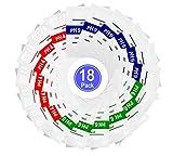 Nynel 18pcs pH Test Meter Mesure lot Solution tampon de mesure de la poudre tampon pH Point d'étalonnage Regard Pour pH Mètre Étalonnage Rapide et Précis du pH de Pureté d'Eau,4.01 6.86 9.18