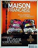 MAISON FRANCAISE [No 549] du 01/09/2007 - comment egayer votre rentree - 42 canapes modulables et beaux - plus d'idees que d'argent - 10 pages relooking deco