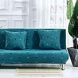 Raylans Housse Clic Clac de Divan-lit Canapé sans Accoudoirs Décoration du Maison Salon