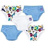 Bambino Mio, culottes d'apprentissage de la propreté, mix garçon cosmos, 3 ans et +, lot de 5