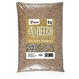 BBQ-Toro Beech Pellets Composer de 100% Bois de hêtre | 15 kg | Pellets de hêtre pour Barbecue, fumoir, Four à Pizza à pellets et systèmes de Chauffage | Pellets à Griller