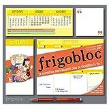 Frigobloc 2021 Hebdomadaire - Calendrier d'organisation familiale / semaine (sept. 2020 -déc. 2021)
