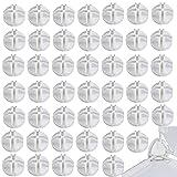 50pcs Fils Cube Plastique Connecteurs,Connecteurs en Plastique Cube de Grille Connecteurs,Connecteur Plastique Cube Résine Armoire Organizer Connecteur en Plastique pour Étagères de Rangement