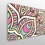 MEGADECOR Tête de lit décorative en PVC 10 mm Design de Style Mandala Arabe.