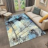 WBDYMX Salon Moderne Tapis,Rectangulaire Confort Respirant Doux et élastique Forte Protection Plancher Table Basse canapé tête de lit -180 * 280CM