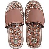 Chaussons de Massage des Pieds, Chaussons de Massage Point d'acupuncture des Pieds Chaussures de Soins de santé des Pieds Semelle pour Hommes et Femmes Jade Acupuncture Chaussures de Massage de santé