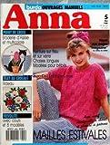 ANNA BURDA [No 5] du 01/05/1988 - OUVRAGES MANUELS BRODEIE D'ASSISE ET MULTICOLORE - FILET AU CROCHET / RIDEAU - FRIVOLITE / AVEC COURS ET 8 MODELES - PEINTURE SUR TISSU ET SUR VERRE - CHAISE LONGUES - MODELES POUR EBES - MAILLES ESTIVALES
