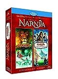 Le monde de Narnia chapitre 1 : le lion, la sorcière blanche et l'armoire magique + Le monde de Narnia chapitre 2 : Le prince Caspian - Coffret 4 Blu-ray