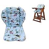 Bébé poussette/voiture / chaise haute coussin de siège doublure tapis de protection protecteur respirant (Pingouin)
