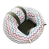 Smartrich Fauteuil sécurisé en forme de «U», pour bébés de 0 à 6 mois, Housse : peluche, rembourrage : coton PP., N°4, 43x43x20cm