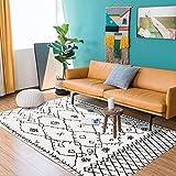 GH-YS Tapis Maison Salon Durable Tapis Gris Chambres de Style berbère Tapis Grand Salon marocain Tapis Doux Chambre d'enfants canapé patios Tapis d'entrée