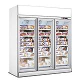 Armoire Réfrigérée Négative Professionnelle Blanche - 2 ou 3 Portes - Combisteel - R2902 Portes1880 mm1000Vitrée