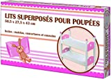 WDK Partner- Lits Superposes Bois, HPKC8, Multicolore