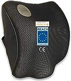 AIMO Spain Coussin cervical de voiture, anatomique, respirant, enveloppant, prévient les blessures cervicales