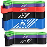 FFEXS FX Premium Bandes de Résistance Elastique d'exercice Pull Up Chin Traction