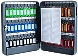 PAVO 8027040 Placard à clés pour 54 clés Gris foncé