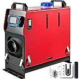 Mophorn Chauffage de Voiture d'air diesel 12v 5kw Réchauffeur de voiture d'air (Avec écran LCD bleu & 1 sortie d'air) Préchauffage du moteur de la voiture garée