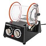 filfeel La machine polisseuse de tambours de bijouterie, Rotation en deux Adresses, peut être rotar regularmente (10, 20, 30, 40, 50min), réglable en 5 Types de bijoux Brillantes