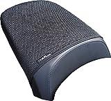 Housse de siège Triboseat Anti Slip Passenger conçue pour s'adapter à la Couleur Noire Compatible avec BMW R1200RT LC (2014-2018)
