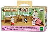 Sylvanian Families - Le Village - Cuisine Aménagée Sylvanian - 5222 - Meubles et Accessoires Poupée - Mini Poupées