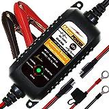 MOTOPOWER 0205A 12V 800mA Entièrement Chargeur de Batterie Automatique/Mainteneur pour Voitures, Motos, ATV, RVS, Powersports, Bateau et Plus Encore