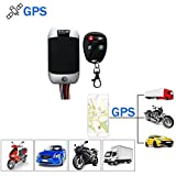 Traceur GPS,Moto GPS Locator véhicule GPS Tracker avec système de Suivi en Temps réel